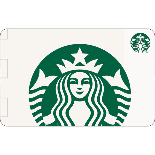 $25.00 Starbucks Gift Card (USA) - Great discount! ( Custom Value Gift Card available also )