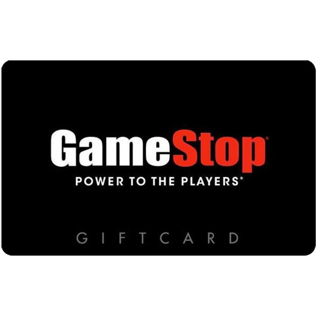 $60.00 Gamestop Gift Card (USA) - Great discount! ( Custom Value Gift Card available also )