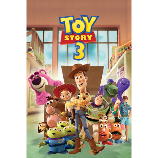 Toy Story Trilogy 4K with DMR [Toy Story 1,2, and 3]
