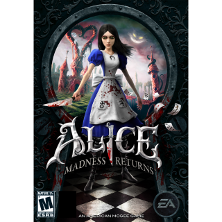 Alice: Madness Returns Origin Key GLOBAL [SteamKey\RegionFree\InstantDelivery]
