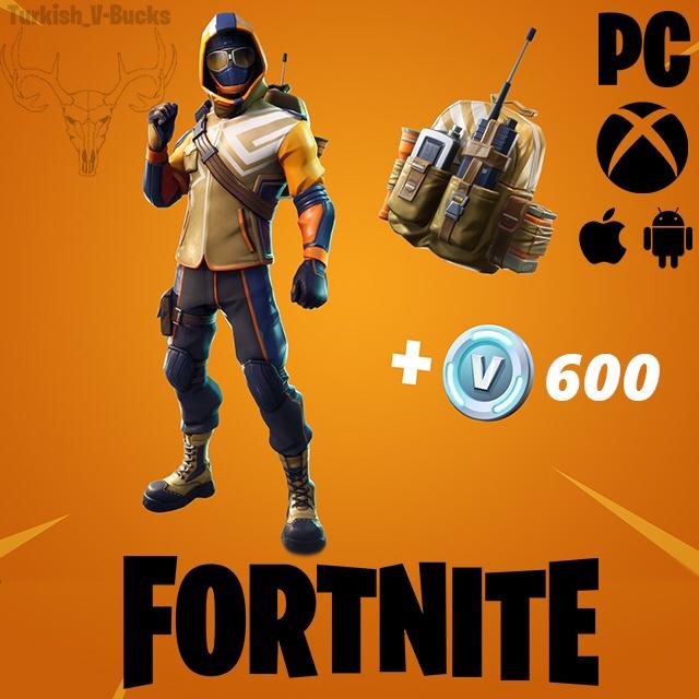 Fortnite Starter Pack Summit Striker 600 V Bucks Other Gameflip