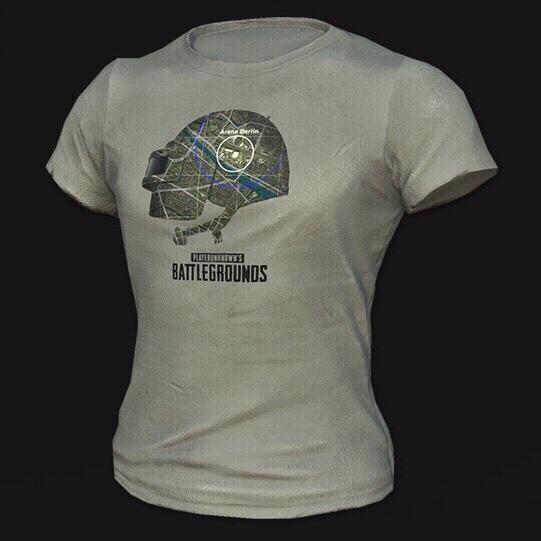 PUBG | PGI T-Shirt code - PlayerUnknown's Battlegrounds In-Game