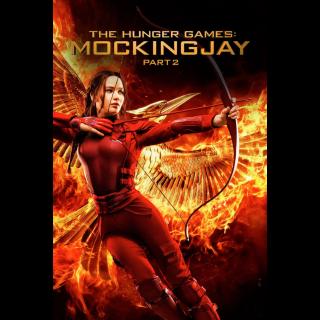 The Hunger Games: Mockingjay - Part 2  |  Vudu or FandangoNow