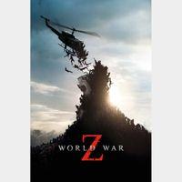 World War Z  |  Vudu
