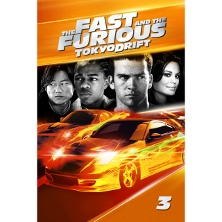 The Fast and the Furious: Tokyo Drift  |  MoviesAnywhere