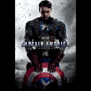 Captain America: The First Avenger (2011) GooglePlay Digital HD
