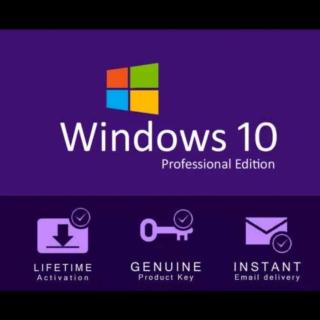 WINDOWS 10 PRO 32/64 BIT WIN 10 GENUINE LICENSE ORIGINAL Activation Key 🔥Instant Delivery🔥