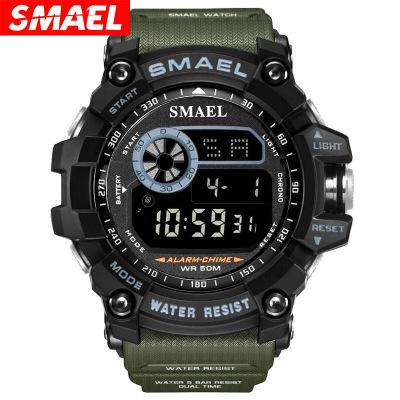 SMAEL Smaller Outdoor Sports Single Display Electronic Waterproof Shock-proof  Men's Sports Watch