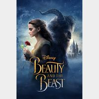Beauty and the Beast (2017) - 4K Canadian or US iTunes Code - Ports through Movies Anywhere