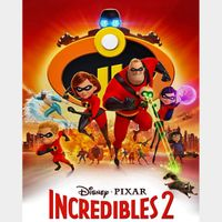 Incredibles 2 - 4K Canadian or US iTunes Code - Ports through Movies Anywhere