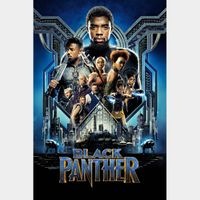 Black Panther - 4K Canadian or US iTunes Code - Ports through Movies Anywhere