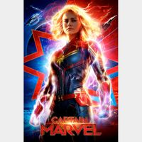 Captain Marvel -  4K Canadian or US iTunes Code - Ports through Movies Anywhere