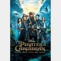 Pirates of the Caribbean: Dead Men Tell No Tales - 4K Canadian or US iTunes Code - Ports through Movies Anywhere