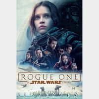 Rogue One: A Star Wars Story - 4K Canadian or US iTunes Code - Ports through Movies Anywhere