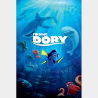 Finding Dory - 4K Canadian or US iTunes Code - Ports through Movies Anywhere
