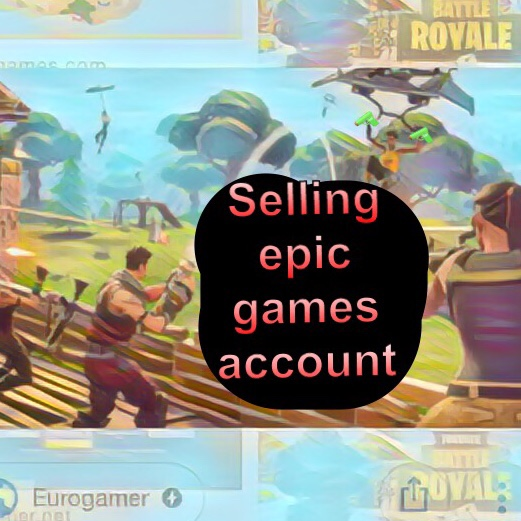 Epic games account for fortnite(everything in description - Xbox Gift