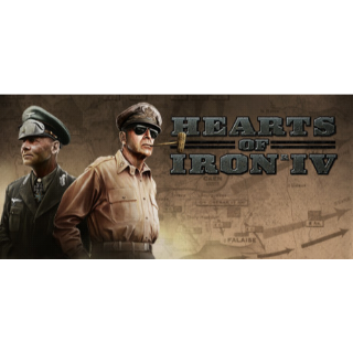 Hearts of Iron IV - Instant Delivery via Steam
