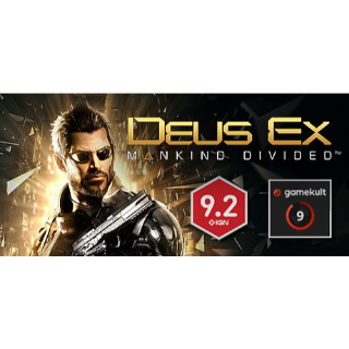 Deus Ex - Mankind Divided - Steam Instant Delivery