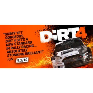 DiRT 4 - Instant Delivery