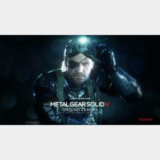 METAL GEAR SOLID V: GROUND ZEROES AAANNNDDD METAL GEAR SOLID V: THE PHANTOM PAIN- Instant Delivery via Steam
