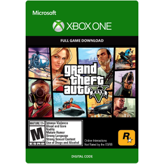 Grand Theft Auto V, GTA 5 (Xbox One) Region Free, digital code