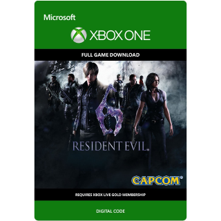 Resident Evil 6 (Xbox One) digital code INSTANT DELIVERY