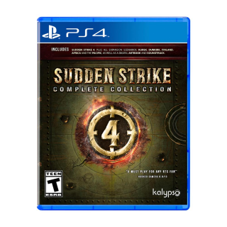 The Sudden Strike 4: Complete Collection PS4 USA ZONE