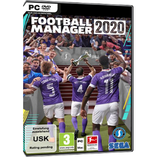 Football Manager 2020 STEAM GLOBAL KEY