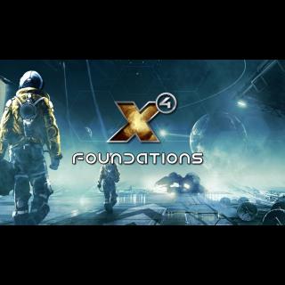 X4: Foundations STEAM GLOBAL KEY