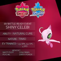 Other | 6IV EVENT SHINY CELEBI