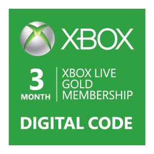 Xbox Live Gold 3 Months Subscription