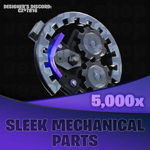 Sleek Mechanical Parts | 5000x