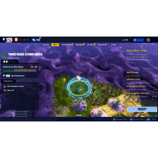 I will get you Twine Peaks Endurance Banner in my own storm shield :)