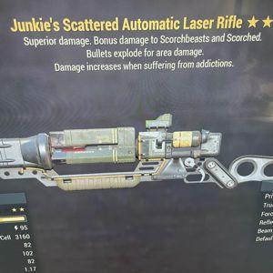 Weapon | JE Laser Rifle