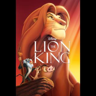 The Lion King Google Play HD no DMR