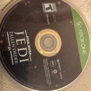 Star Wars Jedi fallen order (disc only!!!!!!)