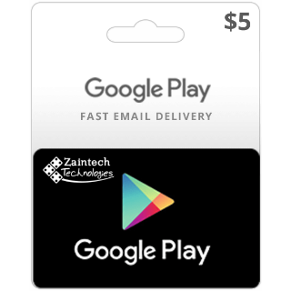 $5.00 Google Play US - (Instant Delivery)
