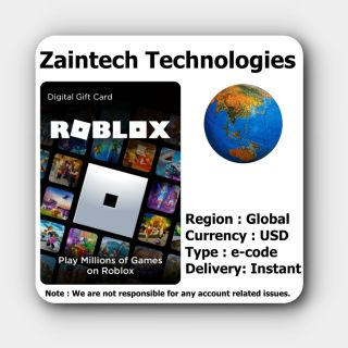 $40 Roblox Global - (Delivery in 24 Hours)