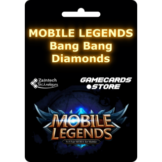 565 Diamonds - Mobile Legends: Bang Bang - Andriod/IOS - (Within 24 Hours)