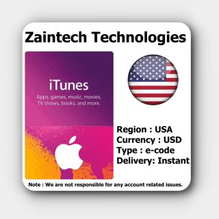 $12 iTunes US - (Delivery in 24 Hours)