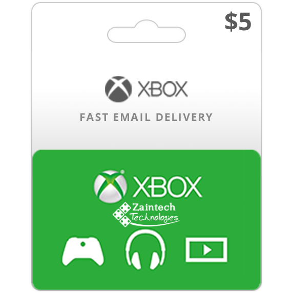5 Xbox Gift Card US Region - (Instant Delivery)