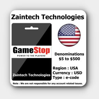 $10 GameStop US - (Delivery in 24 Hours)