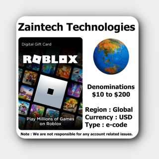 $5 Roblox Global - (Instant Delivery)