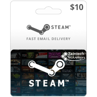 $10 Steam Wallet US - (Instant Delivery)