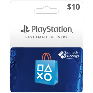 $10 PlayStation US - (Instant Delivery)