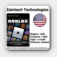 $10 Roblox US - (Instant Delivery)