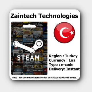 TL50 Steam Turkey (TUR) - (Delivery in 24 Hours)