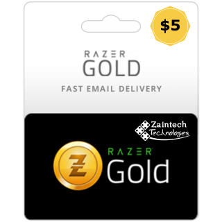 $5 Razer Gold Global - (Instant Delivery)