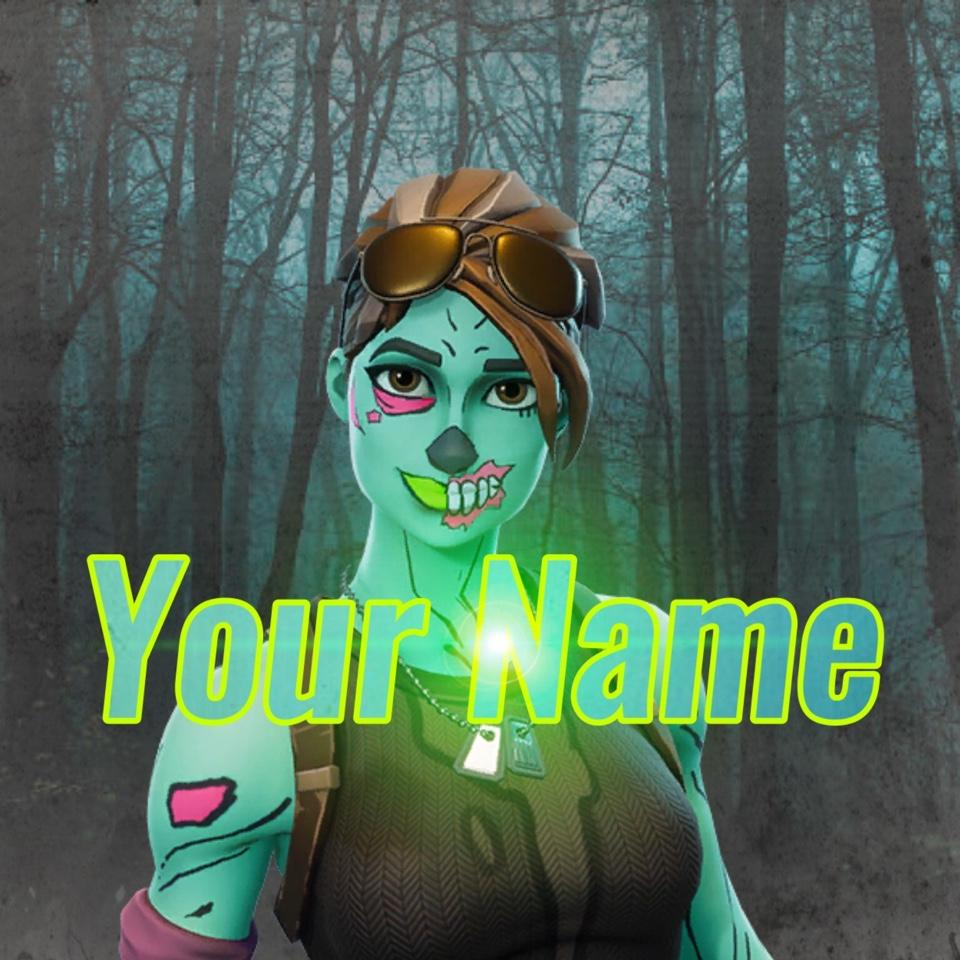 Fortnite Ghoul Trooper Logo/Gamerpic