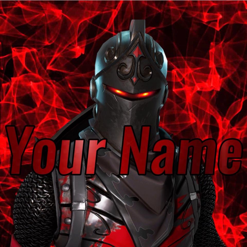 Fortnite Black Knight Logo/Gamerpic